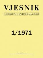 Vjesnik 1/1971