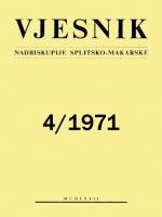 Vjesnik 4/1971