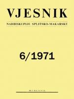 Vjesnik 6/1971