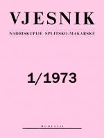 Vjesnik 1/1973